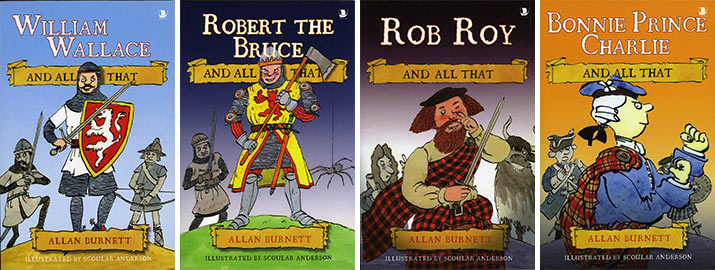 Four-Scottish-Heroes-Books