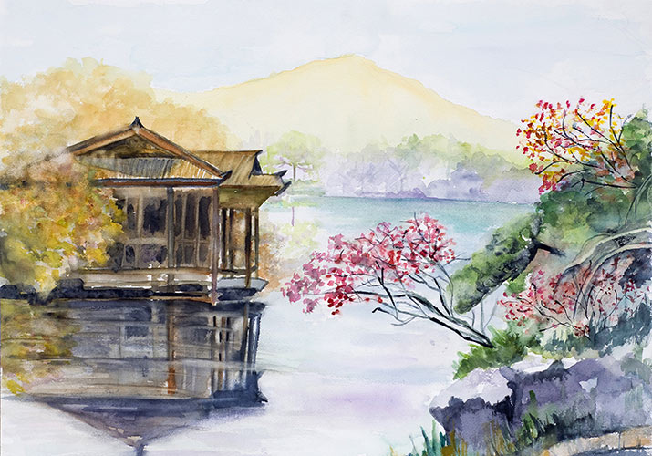 hangzhou-kinsai-watercolor-west-lake-715