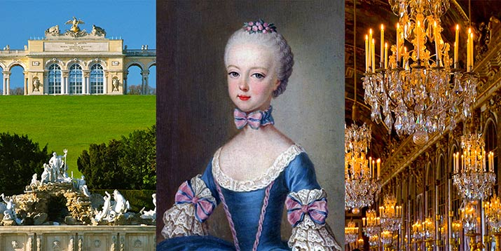 Marie Antoinette Vienna And Versailles See The World