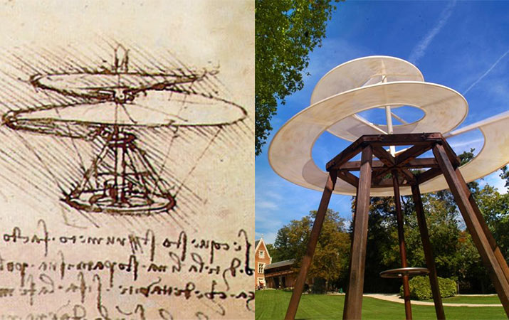 leonardo da vinci�s inventions see the world