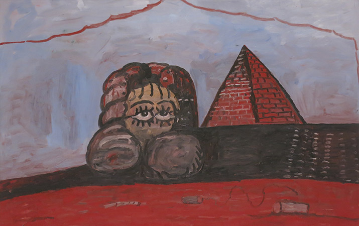SFMOMA-philip-guston-nile-sphinx-pyramid-715